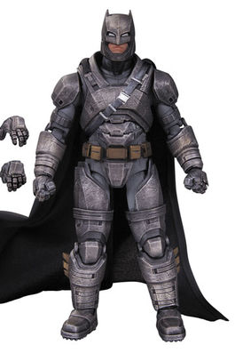 DC Films Figura Premium Armored Batman (Batman v Superman Dawn of Justice) 17 cm