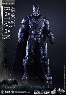 Armored Batman (Black Chrome Version) MMS356