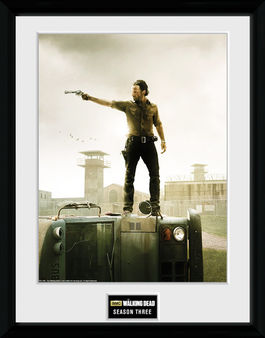 THE WALKING DEAD Season 3 printed frame