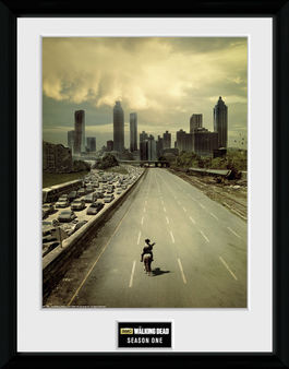 THE WALKING DEAD Season 1 printed frame