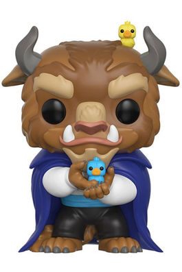La Bella y la Bestia Figura POP! Disney Vinyl The Beast 9 cm