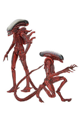 Aliens Genocide Pack de 2 Figuras Big Chap & Dog Alien 23 cm