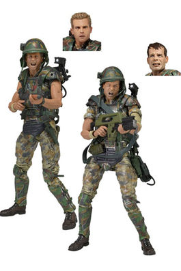 Aliens Pack de 2 Figuras 30th Anniversary Colonial Marines 18 cm