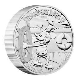 DISNEY Steamboat Willie- 1 KILO SILVER