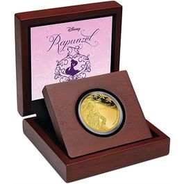 DISNEY-Rapunzel- 1/4 Oz GOLD