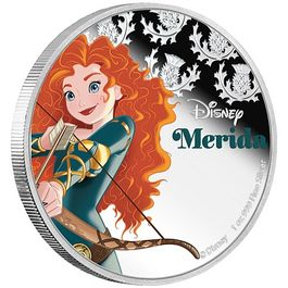 DISNEY-Merida- 1 Oz Silver