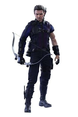 Captain America Civil War Figura Movie Masterpiece 1/6 Hawkeye 30 cm MMS358