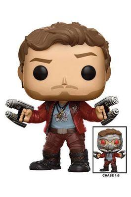 Guardians of the Galaxy Vol. 2 POP! Marvel Vinyl Figures 9 cm Star-Lord