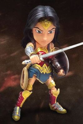Batman v Superman Hybrid Metal Action Figure Wonder Woman 14 cm