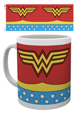DC COMICS Wonder Woman Costume TAZA