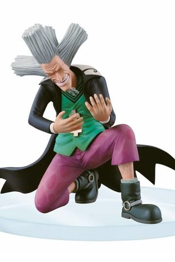 One Piece Dramatic Showcase Figure Dr. Hiluluku 10 cm