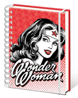 DC Comics (Wonder Woman - Red) A5 Wiro Notebook