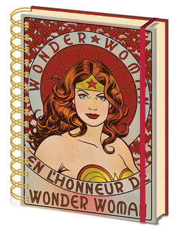 Wonder Woman (En L'Honneur De) A5 Wiro Notebook