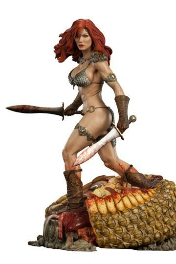 Red Sonja Premium Format Figure Red Sonja She-Devil with a Sword 51 cm