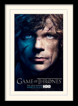 Game of Thrones (Season 3 - Tyrion) Mounted & Framed 30 x 40cm Print