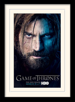 Game of Thrones (Season 3 - Jaime) Mounted & Framed 30 x 40cm Print