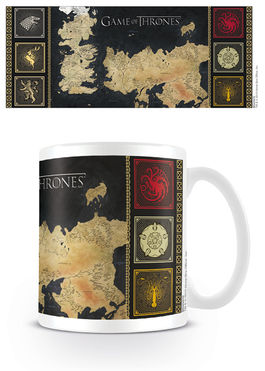 Game of Thrones (Map) Coffee Mug