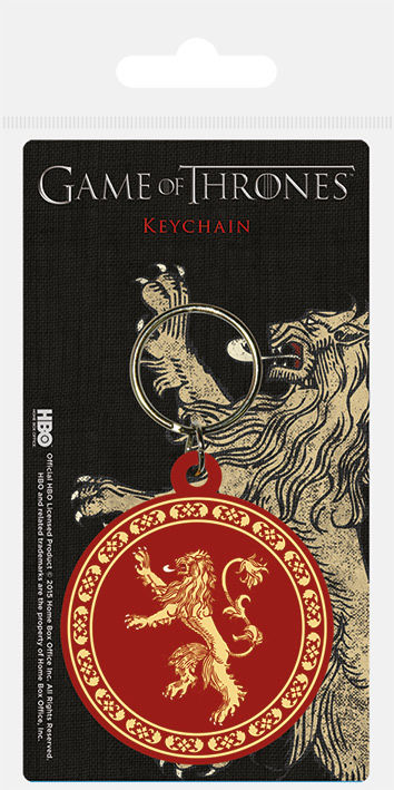 Game of Thrones (Lannister) Rubber Keychain