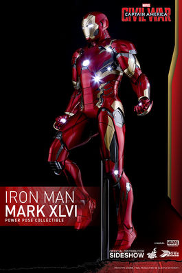 Marvel Civil War: Iron Man Mark XLVI Sixth scale Figure