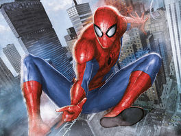 Spider-Man (In Action) Canvas Print