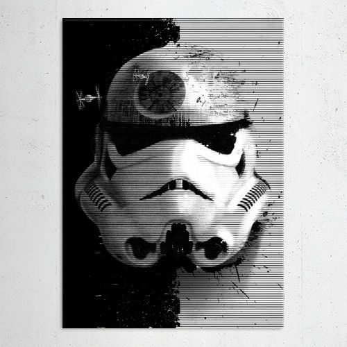 STARTROOPER POSTER METALICO