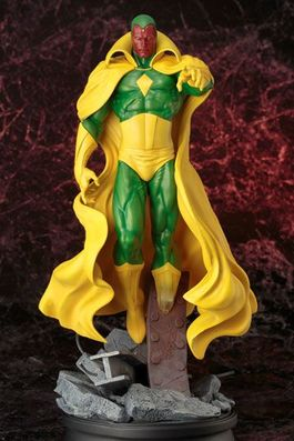 Marvel Comics Fine Art Estatua 1/6 Vision 41 cm