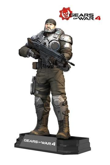 Gears of War 4 Figura Color Tops Marcus Fenix 18 cm