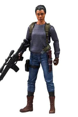 The Walking Dead TV Version Figura Sasha 13 cm
