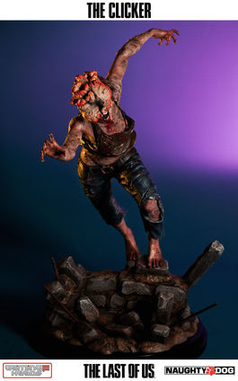 The Last of Us: The Clicker 1:4 Statue