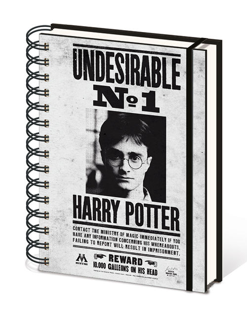 Harry Potter (Undesirable No1) A5 Wiro Notebook
