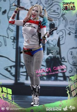 Suicide Squad Movie Masterpiece Action Figure 1/6 Harley Quinn 29 cm MMS383
