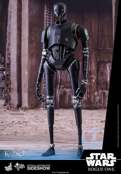 Star Wars Rogue One Movie Masterpiece Action Figure 1/6 K-2SO 36 cm MMS406