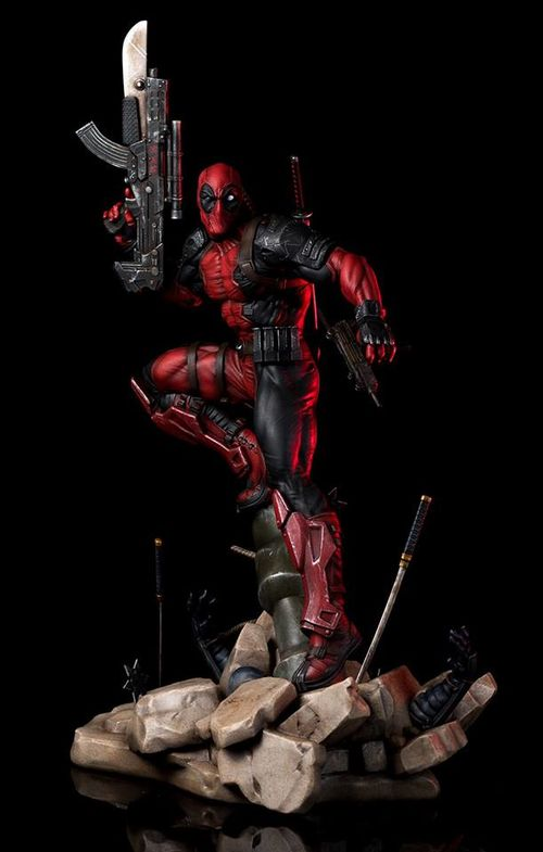 Deadpool 1/6 statue by Erick Sosa- Semic Prototypez