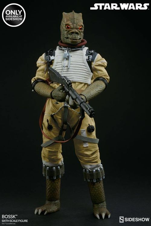 Star Wars Action Figure 1/6 Bossk Sideshow Exclusive 30 cm