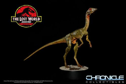 The Lost World Jurassic Park: Compsognathus 1:1 Scale Statue