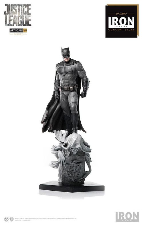 Justice League Estatua Deluxe Art Scale 1/10 Batman Concept Store Exclusive 30 cm