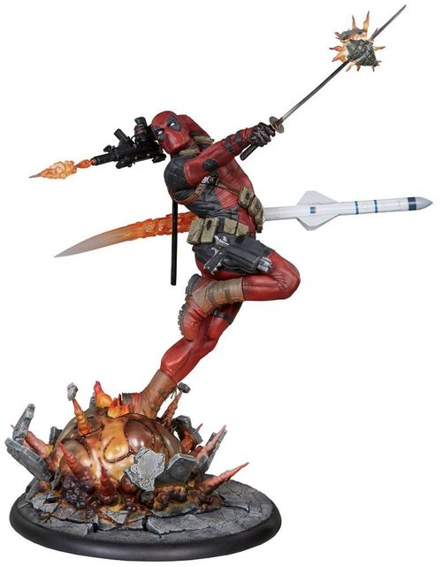 Marvel Comics Estatua Premium Format Deadpool Heat-Seeker 61 cm