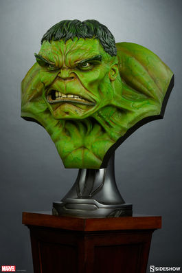 Marvel: The Incredible Hulk Life Sized Bust