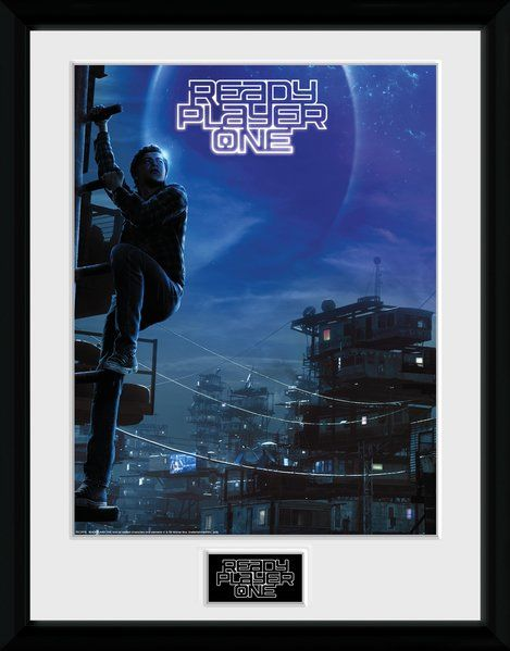 Ready Player One Sheet Frame 30x40cm