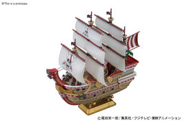 MAQUETTE GRANDSHIP RED FORCE DEL MANGA ONE PIECE