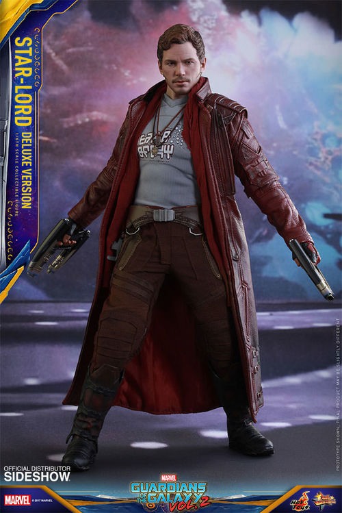 Guardians of the Galaxy Vol 2: Deluxe Star-Lord 1:6 Scale Figure MMS421