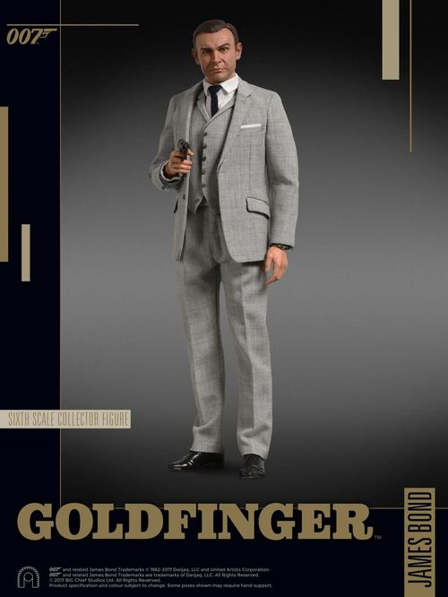 James Bond: Goldfinger -James Bond 1:6 Scale Figure