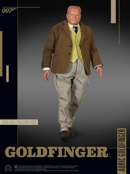 James Bond: Goldfinger - Auric Goldfinger 1:6 Scale Figure