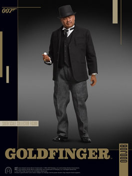 James Bond: Goldfinger - Oddjob 1:6 Scale Figure