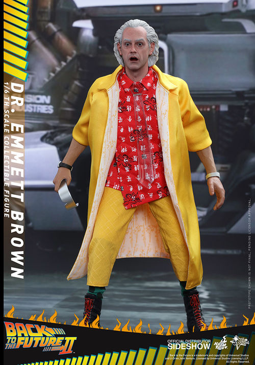 Back to the Future 2: Dr. Emmett Brown 1:6 Scale Figure MMS380