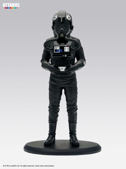 Star Wars Elite Collection Estatua Tie Fighter Pilot 18 cm