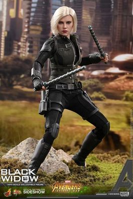 VENGADORES INFINITY WAR FIGURA MOVIE MASTERPIECE 1/6 BLACK WIDOW 28CM.
