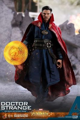 VENGADORES INFINITY WAR FIGURA MOVIE MASTERPIECE 1/6 DOCTOR STRANGE 31CM.
