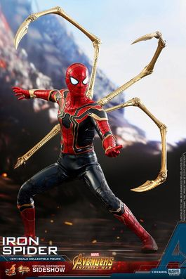 Vengadores Infinity War Figura Movie Masterpiece 1/6 Iron Spider 28 cm