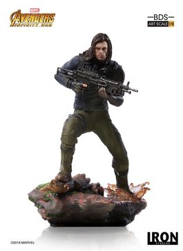 Vengadores Infinity War Estatua BDS Art Scale 1/10 Winter Soldier 20 cm